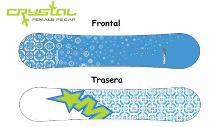 Tabla Snowboard Matrix Crystal