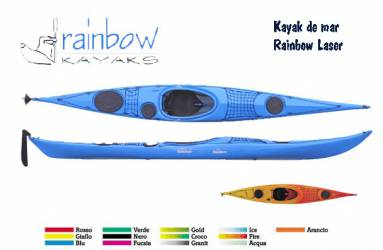 Kayak de mar Rainbow Laser