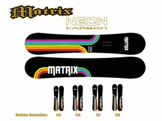 Tablas de Snowboard Matrix...