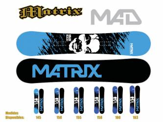 Tabla de Snow Matrix Mad...