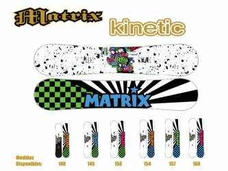 Tablas Snowboard Matrix...