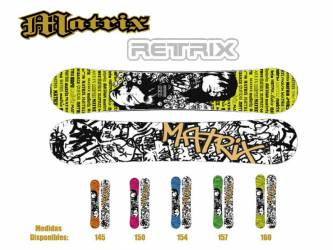 Tabla Snowboard Matrix...