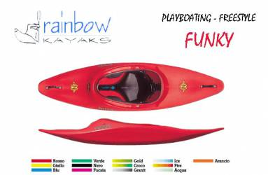 Kayak Freestyle Rainbow Funky