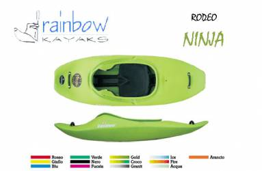 Kayak de Rodeo Rainbow Ninja