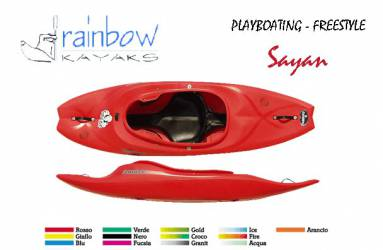 Kayak PlayBoating Rainbow...