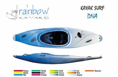 Surf Kayak Rainbow DNA