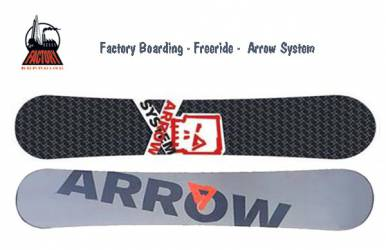 Tabla Snow Factory Arrow...