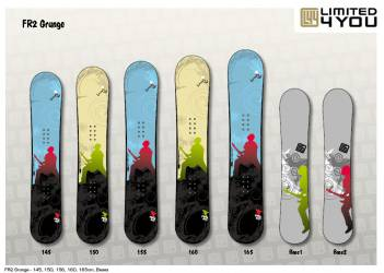 Snowboard Limited4You FX2...