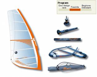 Vela Windsurf Freeride...
