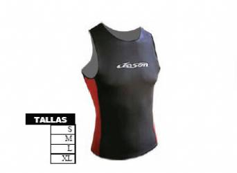 Camiseta Neopreno Tirantes 2mm