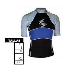 Camiseta Neopreno Lycra 1mm